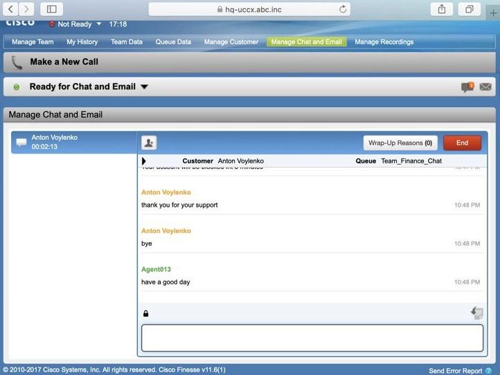 Nova ChatBot for Cisco UCCX | NovaIT
